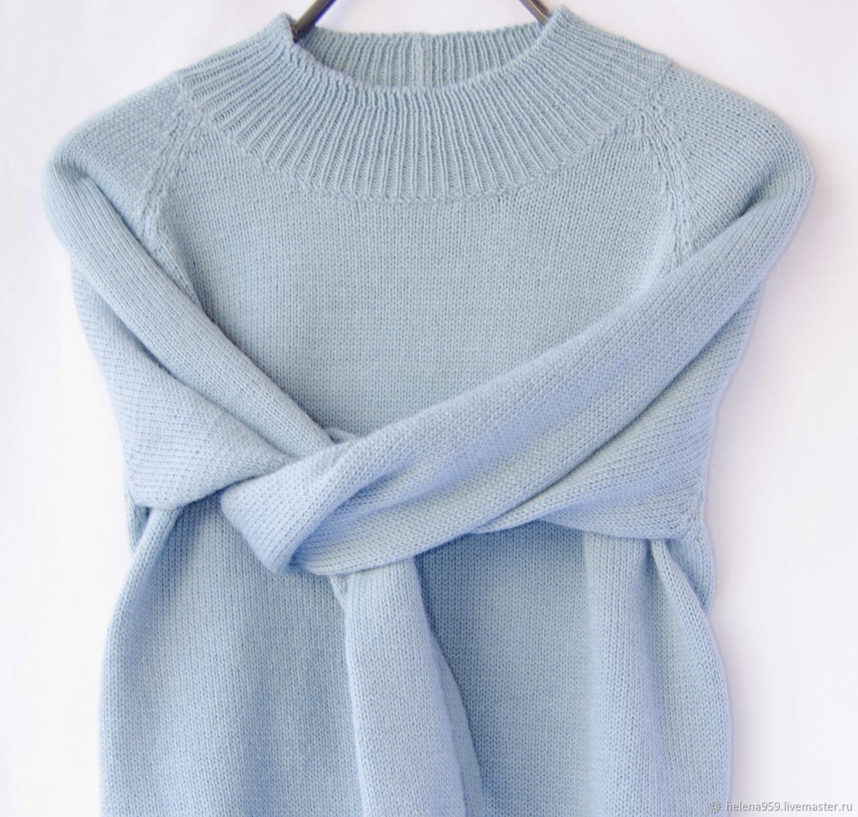 Knitted sweater with Raglan sleeve, Sweaters, Ulyanovsk,  Фото №1