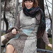 Одежда ручной работы. Ярмарка Мастеров - ручная работа платье-сарафан в экостиле. Handmade.