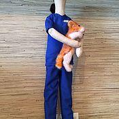 Куклы Тильда ручной работы. Ярмарка Мастеров - ручная работа Портретная кукла врач-ветеринар. Handmade.