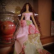 Куклы и игрушки ручной работы. Ярмарка Мастеров - ручная работа Цветочный ангел тильда. Handmade.