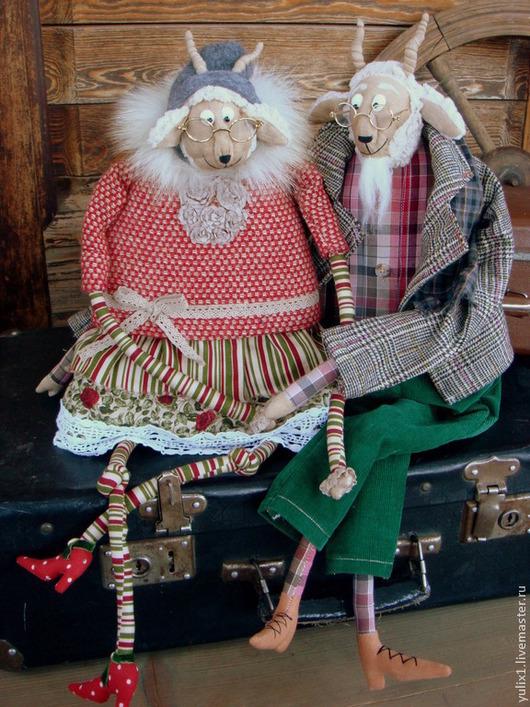 Игрушки животные, ручной работы. Ярмарка Мастеров - ручная работа. Купить Семья!. Handmade. Семья, подарок, коллекционные игрушки, вместе