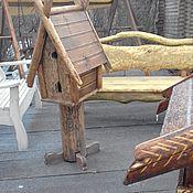 Для дома и интерьера ручной работы. Ярмарка Мастеров - ручная работа кормушка для птиц. Handmade.