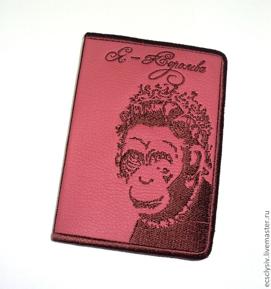 """Обложки ручной работы. Ярмарка Мастеров - ручная работа. Купить Обложка для паспорта  """"Я-Королева """". Handmade. Обложка"""