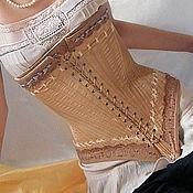 """Одежда ручной работы. Ярмарка Мастеров - ручная работа корсет """"винтаж"""". Handmade."""
