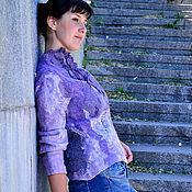 """Одежда ручной работы. Ярмарка Мастеров - ручная работа Жакет """"сумерки """". Handmade."""