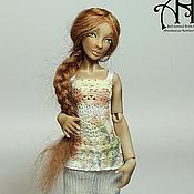 Куклы и игрушки handmade. Livemaster - original item Olesya and Ein (12.5 cm). Handmade.