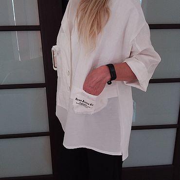 Одежда ручной работы. Ярмарка Мастеров - ручная работа Жакет-рубаха. Handmade.