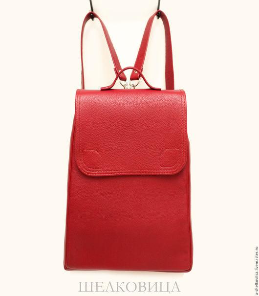 Рюкзаки ручной работы. Ярмарка Мастеров - ручная работа. Купить Кожаный рюкзак - портфель - Временно не доступен для заказа. Handmade.