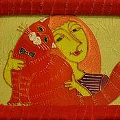 Картины и панно ручной работы. Ярмарка Мастеров - ручная работа Любимый мурлыка. Handmade.