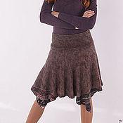 "Одежда ручной работы. Ярмарка Мастеров - ручная работа валяная юбочка ""Кантри"". Handmade."