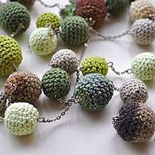 Украшения handmade. Livemaster - original item Green beads