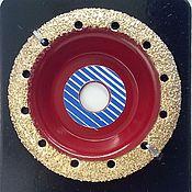 Материалы для творчества ручной работы. Ярмарка Мастеров - ручная работа Обдирочный диск средний раунд. Handmade.