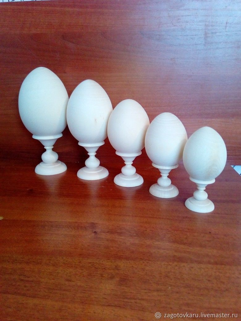 egg with stand, Blanks for decoupage and painting, Nizhny Novgorod,  Фото №1