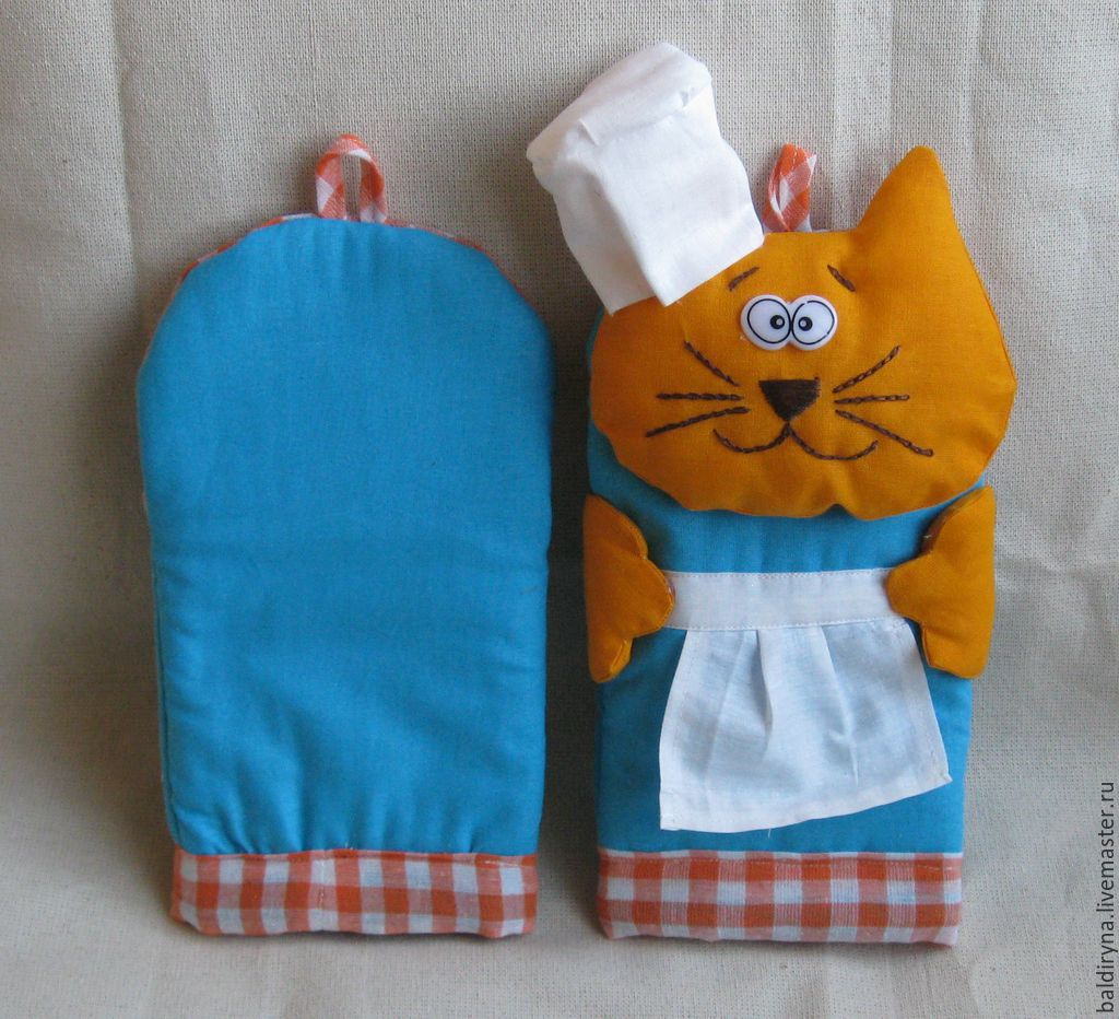 Перчатки для кухни своими руками 80