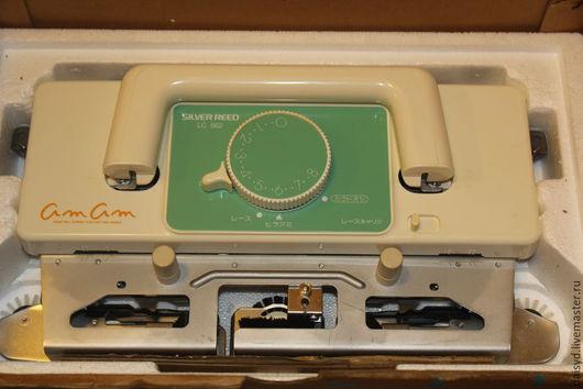 Вязание ручной работы. Ярмарка Мастеров - ручная работа. Купить Ажурная каретка Silver Reed LC562, 5 класс, новая, Япония. Handmade.
