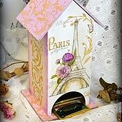 """Для дома и интерьера ручной работы. Ярмарка Мастеров - ручная работа Чайный домик """"France"""". Handmade."""