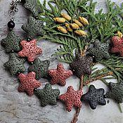 Работы для детей, handmade. Livemaster - original item Decoration made of natural lava