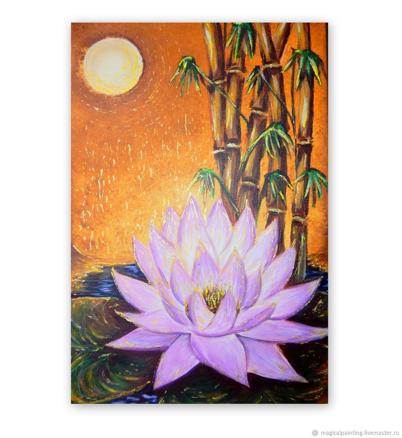 Painting for the interior 'Lotus of the High Sun', Pictures, St. Petersburg,  Фото №1