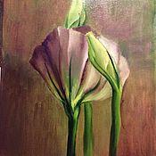 Картины и панно ручной работы. Ярмарка Мастеров - ручная работа Портрет цветка. Handmade.