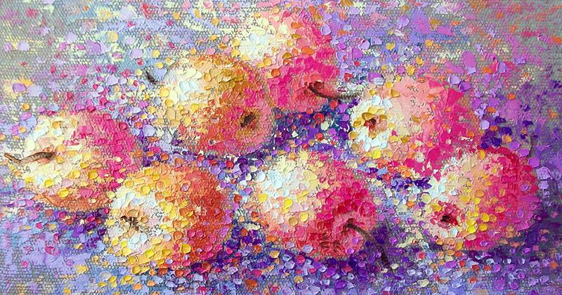 яблоки розмарин