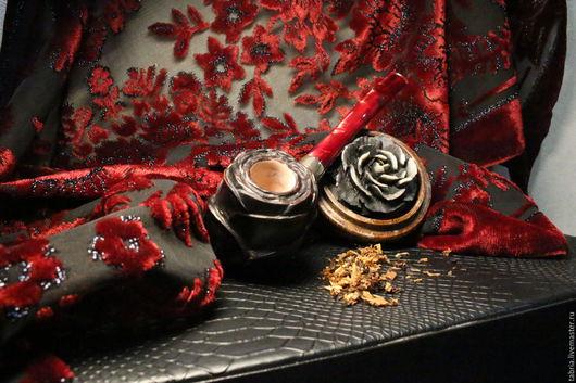 Персональные подарки ручной работы. Ярмарка Мастеров - ручная работа. Купить Чёрная роза. Handmade. Черный, бриар
