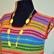 """Одежда ручной работы. Ярмарка Мастеров - ручная работа Платье """"Яркая Ирэн"""". Handmade."""