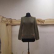Одежда ручной работы. Ярмарка Мастеров - ручная работа Шелковый вязаный свитер Монвизо,  Италия. Handmade.