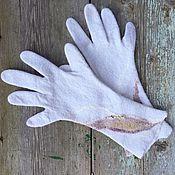 Аксессуары handmade. Livemaster - original item Gloves felted Princess. Handmade.