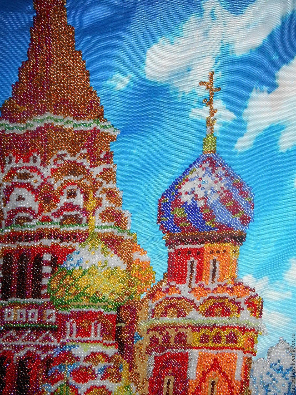 Вышивка бисером храма 61