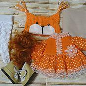 Тыквоголовка ручной работы. Ярмарка Мастеров - ручная работа Набор для создания куколки (несколько вариантов на выбор). Handmade.