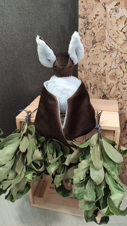 Летучая мышь, Мягкие игрушки, Верхняя Пышма,  Фото №1