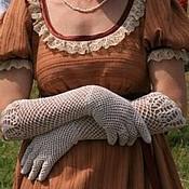 Аксессуары ручной работы. Ярмарка Мастеров - ручная работа Перчатки летние в старинном стиле. Handmade.