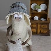 Куклы и игрушки ручной работы. Ярмарка Мастеров - ручная работа Овечка Изольда. Handmade.