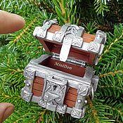 Куклы и игрушки handmade. Livemaster - original item The chest of the video game WOW - collectible miniature. Handmade.