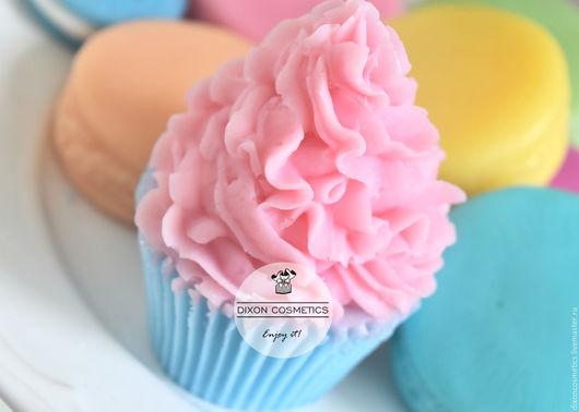 """Мыло ручной работы. Ярмарка Мастеров - ручная работа. Купить Мыло с нуля """"Капкейк"""". Handmade. Розовый, мыло сувенирное"""