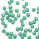 Для украшений ручной работы. Ярмарка Мастеров - ручная работа. Купить 50шт 3мм Чешские граненые бусины зеленая бирюза Fire polished beads. Handmade.