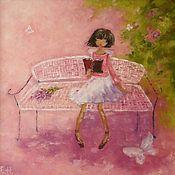 Картины и панно handmade. Livemaster - original item Oil painting lilac Blooms. Handmade.