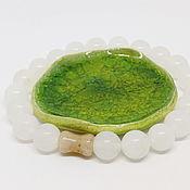 Украшения handmade. Livemaster - original item Aer White Quartz Bracelet. Handmade.