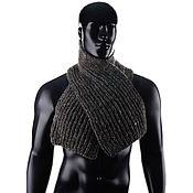 Аксессуары handmade. Livemaster - original item Men`s wool scarf. Handmade.