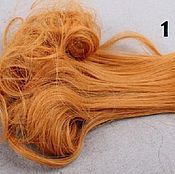 Материалы для творчества ручной работы. Ярмарка Мастеров - ручная работа Волосы 15см 5 цветов. Handmade.