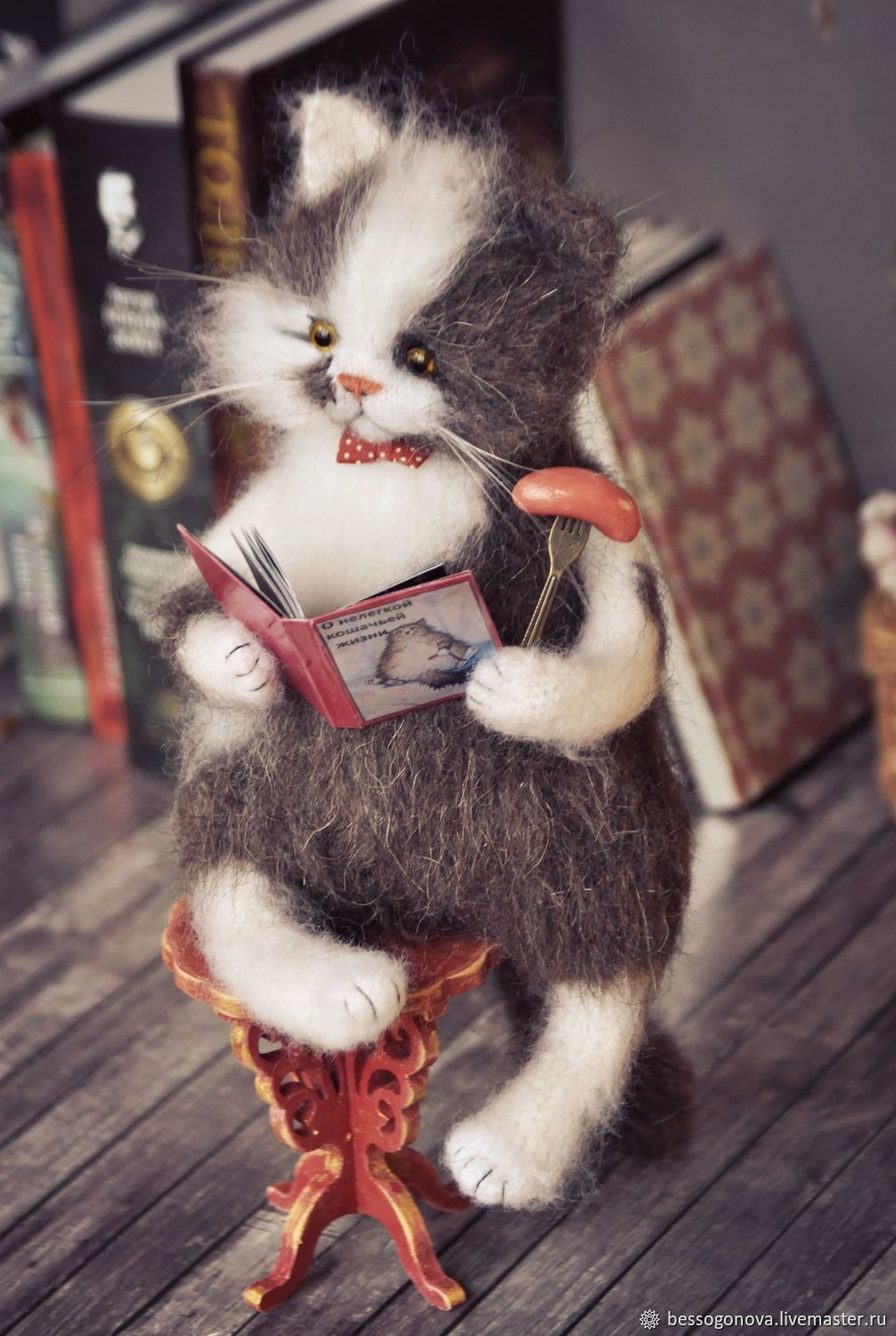 About the hard life of a cat, Teddy Toys, Severodvinsk,  Фото №1