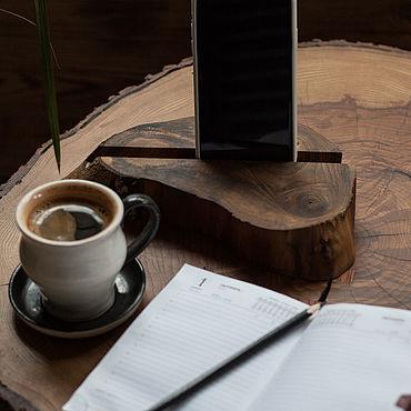 Для дома и интерьера ручной работы. Ярмарка Мастеров - ручная работа Подставка под книгу, телефон, планшет. Handmade.