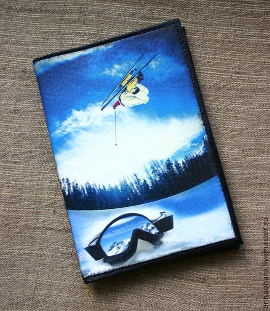 Обложки ручной работы. Ярмарка Мастеров - ручная работа. Купить Бумажник водителя или паспорт Сноу. Handmade. Снег