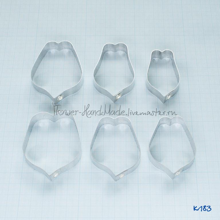 """К183-К184 Каттеры """"Лепестки тюльпана"""" Размер M и L, Каттеры, Щелково,  Фото №1"""