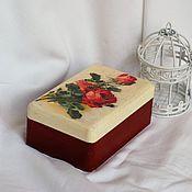 Для дома и интерьера handmade. Livemaster - original item Rose box solid pine. Handmade.