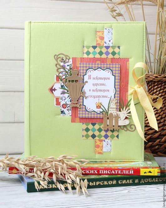 Подарки для новорожденных, ручной работы. Ярмарка Мастеров - ручная работа. Купить Интерактивный фото альбом. Handmade. Комбинированный, фотоальбом в подарок