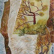Картины и панно handmade. Livemaster - original item The batik panels of