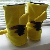 Обувь ручной работы. Ярмарка Мастеров - ручная работа Тапочки Покемоны. Handmade.