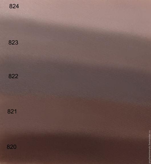 Декоративная косметика ручной работы. Ярмарка Мастеров - ручная работа. Купить Taupe-коллекция минеральных теней-подводок-скульпторов,5 оттенков. Handmade.