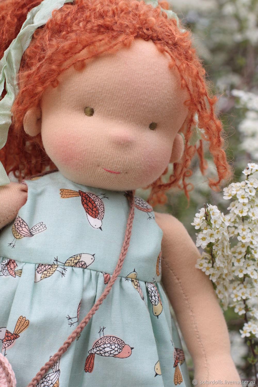 Вальдорфская игрушка ручной работы. Ярмарка Мастеров - ручная работа. Купить Вальдорфская кукла Шарлотта 36 см. Handmade.